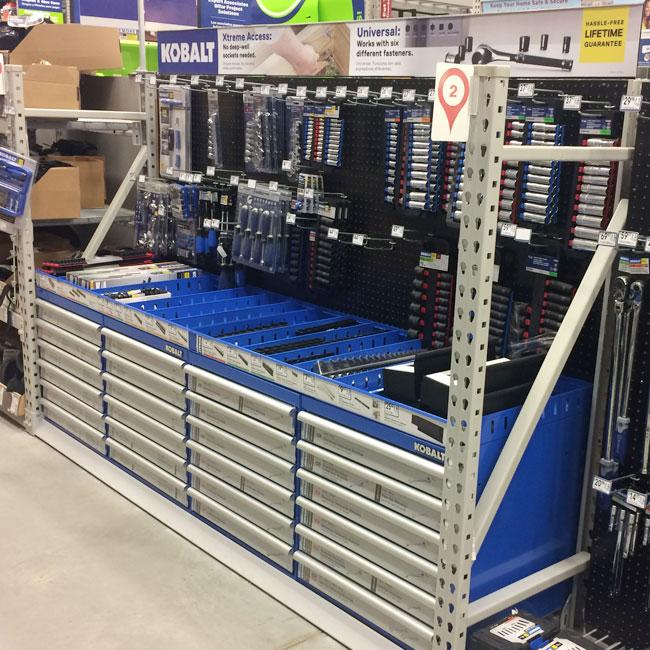 Platt & LaBonia Company KOBALT Retail Merchandising POP Displays