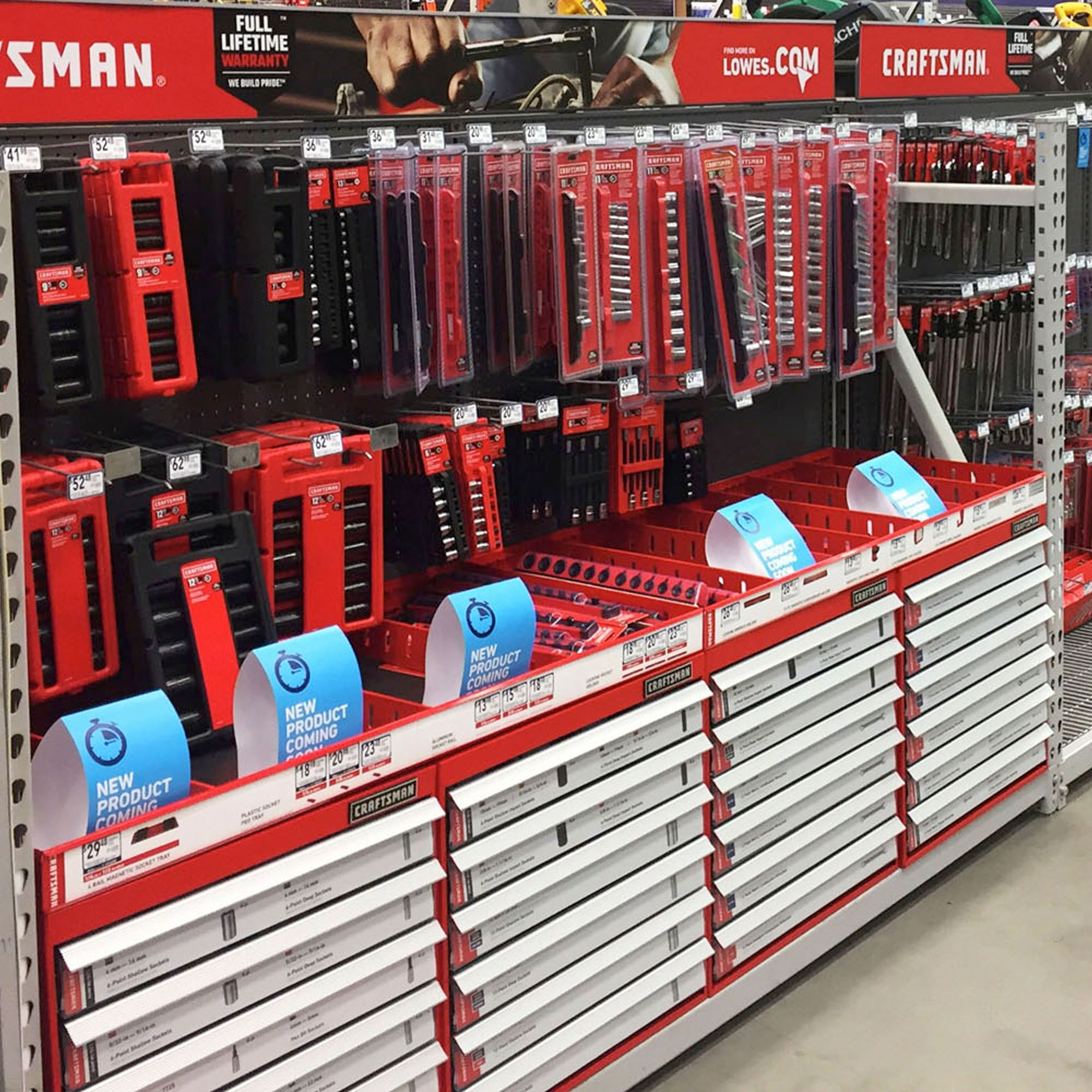 Craftsman - Retail Merchandising