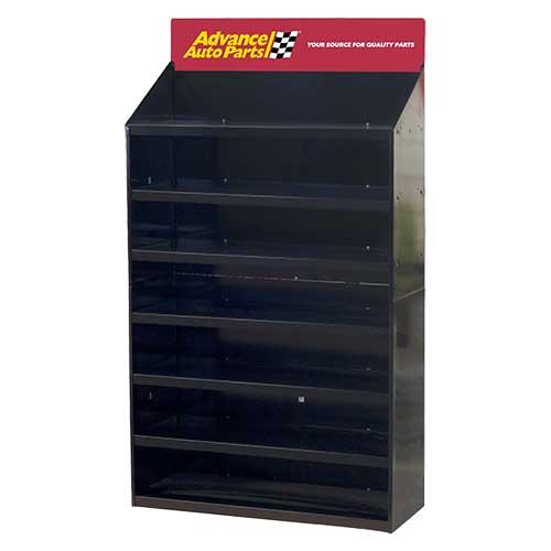 7-Shelf-Knockdown-Display